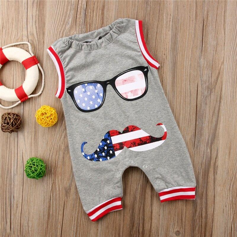 Baby Jumpsuits Cotton Cute Cartoon Dog Pattern Rompers