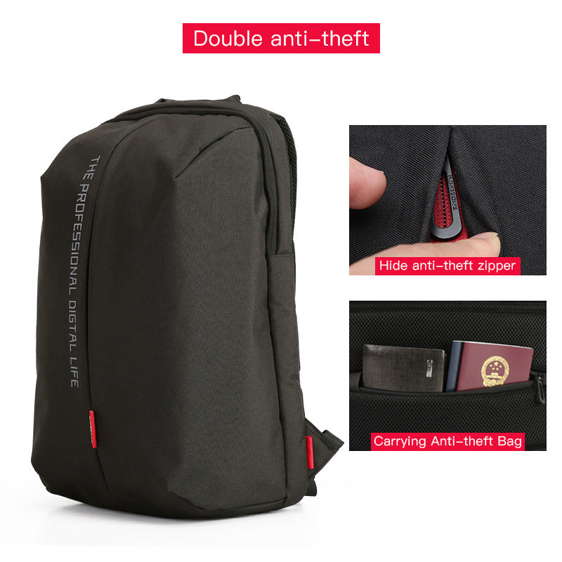 52a526df390f Kingsons Laptop Backpack 15.6 Inch High Quality Waterproof Nylon Bags  Business Dayback Men and Women's Knapsack