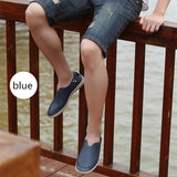 FGGS Summer Casual Driving Shoes Genuine Leather Loafers Business Men Shoes Men Loafers Luxury Flats Boat Shoes Breathable - ebowsos