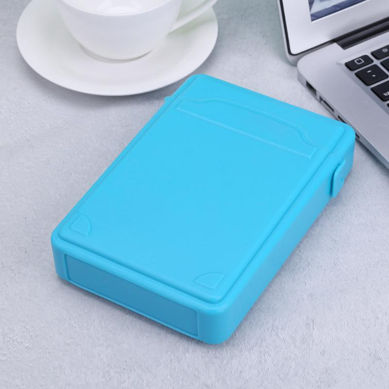 HDD Bag Hard Disk Case Shockproof Protective PP Carry Case Storage Box for 3.5inch Mobile HDD SSD External Storage Box Hot Sale - ebowsos