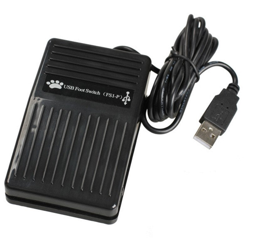 USB Foot Switch Keyboard Pedal Switch for HID PC Computer USB Action Control Pre-program Key Functions - ebowsos