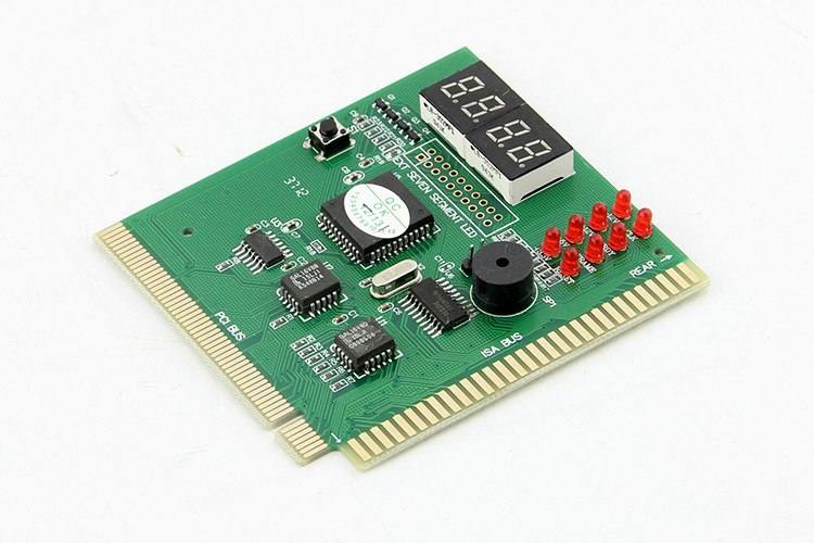 4 Digit Display Analyzer Computer LCD Diagnostic Card Motherboard Post Tester PC Analysis PCI Card Networking Tools - ebowsos