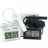 Mini LCD Digital Thermometer Hygrometer Fridge Freezer Tester Temperature Humidity Meter Detector - ebowsos