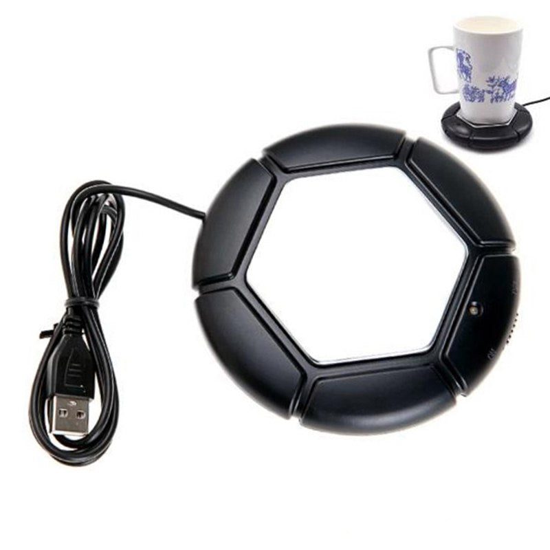 USB Warmer Cup Heater Tray Pad Desktop Portable Electronic Heat Insulation Plate Powered Cup Mug Warmer Coffee Tea USB Gadgets - ebowsos