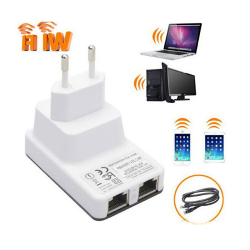 New WiFi Repeater Amplifier 300Mbps Mini Wireless N Router Wifi Repeater Long Range Extender Booster UK EU US Plug - ebowsos