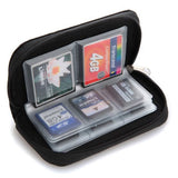 SD SDHC MMC CF Micro SD Memory Card Storage Carrying Pouch Case Holder Wallet - ebowsos