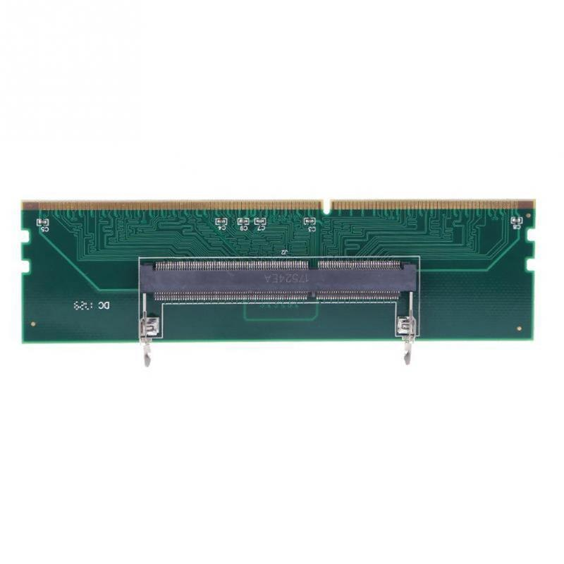 DDR3 SO DIMM To Desktop Adapter DIMM Connector Memory RAM Adapter Card 240 To 204P Computer Memory Adapter Card - ebowsos