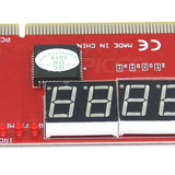 Computer PC 4 Digit Diagnostic Analyzer Card Motherboard Tester High Quality - ebowsos