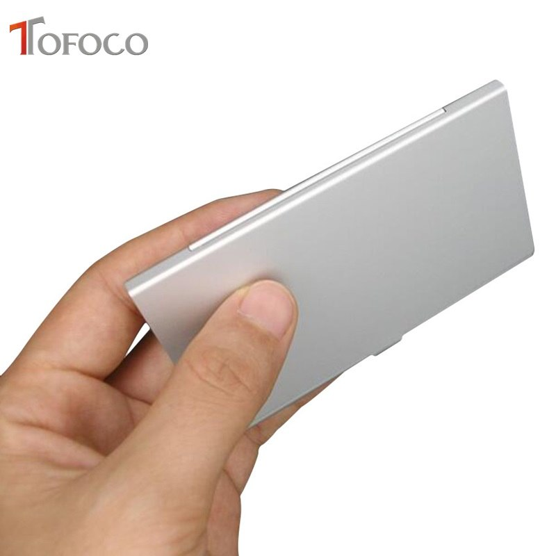 Aluminum Alloy Portable 3 in 1 Aluminum  For SD Card Holder Memory Cards Storage Box Case Holder Protector Easy Carry - ebowsos