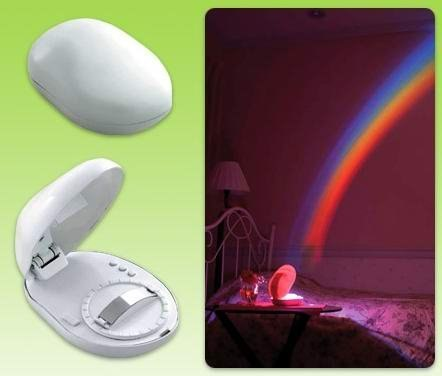 LED Rainbow Projector, Rainbow in room Romantic Rainbow Lamp Light Projector 3 Mode - ebowsos