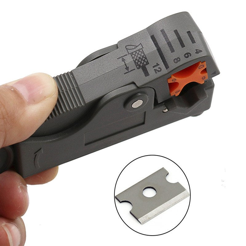 Automatic Stripping Pliers Multifunctional Wire Stripper Wire Cable Tools Cable wire Stripping Crimping tool with Hexagon Wrench - ebowsos
