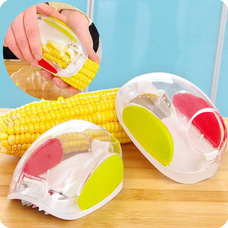 Hot New Useful Corn Stripper cutter Corn shaver Peeler Cooking tools Kitchen Cob Remover - ebowsos