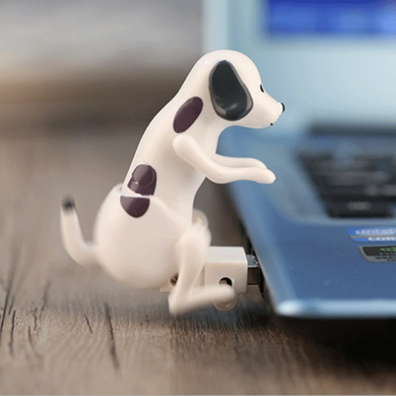 Portable Mini Cute USB 2.0 Funny Humping Spot Dog Rascal Dog Toy Relieve Pressure For Festival for Office Worker Best gift - ebowsos