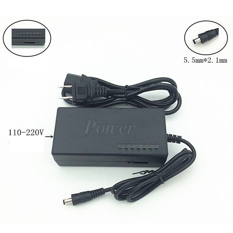 Universal AC Adapter Power Supply 96W for Dell for IBM Laptop Notebook Computer PC Battery Charger - ebowsos