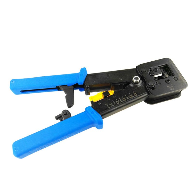 Networking Pliers RJ45 RJ11 Crimping Cable Stripper Crimper RJ45 Pressing Line Clamp Pliers - ebowsos