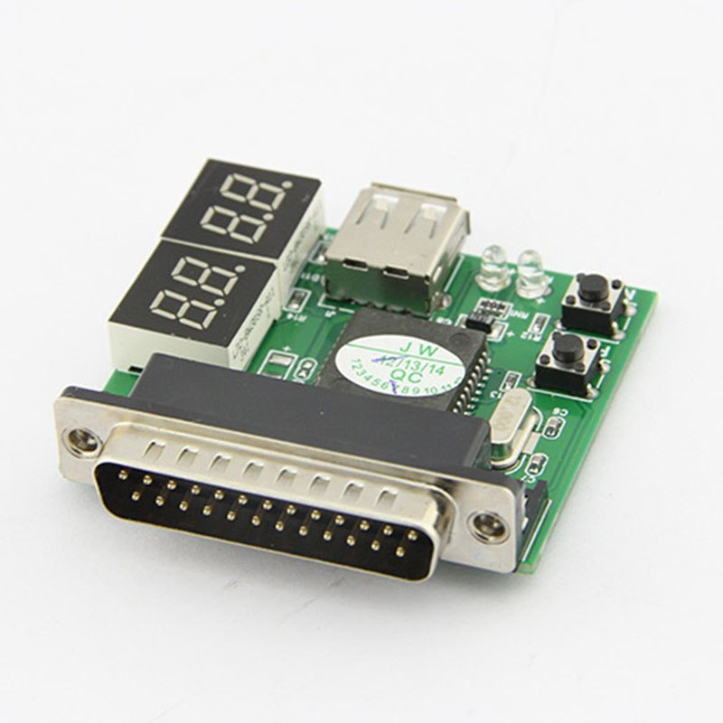 Computer 4-Digit Laptop PC Motherboard USB& PCI Analyser Diagnostic Test Post Card Tester for Notebook Laptop - ebowsos