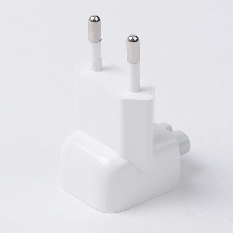 Wall AC Electrical Euro EU Plug Duck Head Power Adapter for Apple iPad iPhone USB Charger MacBook - ebowsos