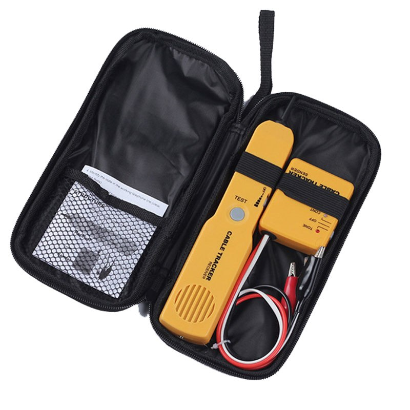 Portable RJ11 Network Phone Telephone Cable Tester Tracker Tracer Diagnose Tone Line Finder Detector Networking Tools - ebowsos