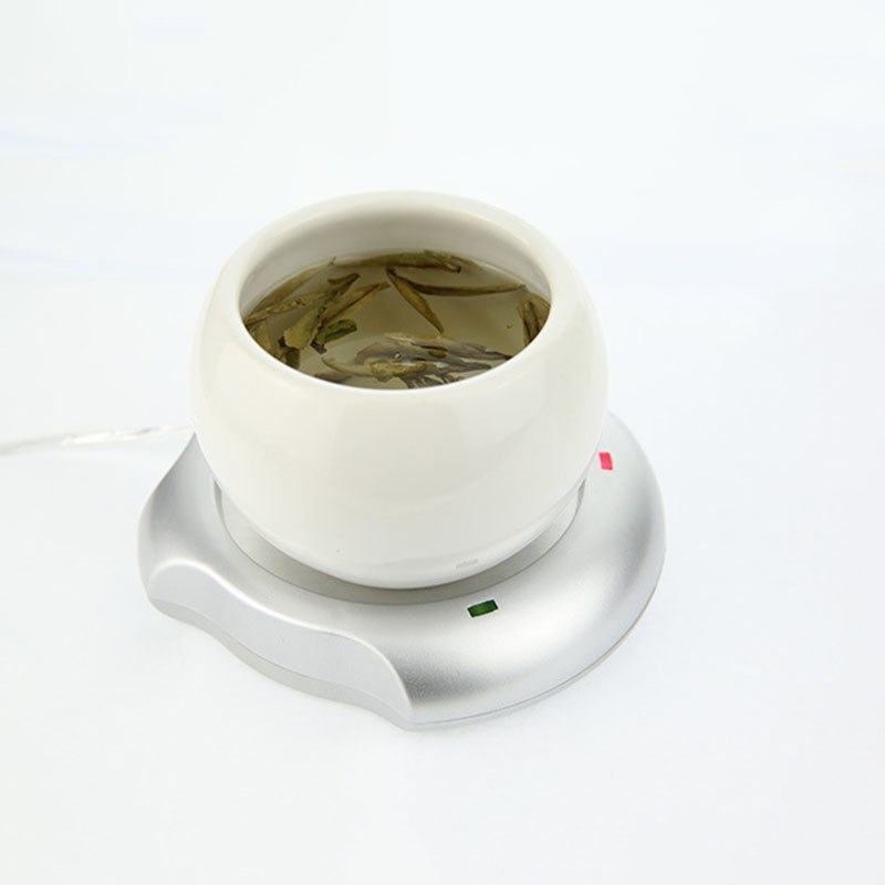Portable USB Electric Cup Warmer Tea Coffee Beverage Cup Heating Pad Mat Warm Celsius Degree - ebowsos
