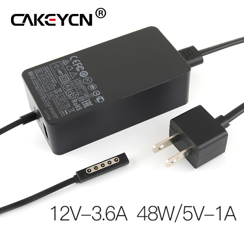 12V 3.6A 48W Power Adapter Charger For Microsoft Surface RT Pro2 Pro 1 2 Windows 8 Tablet PC USB Charging Port - ebowsos