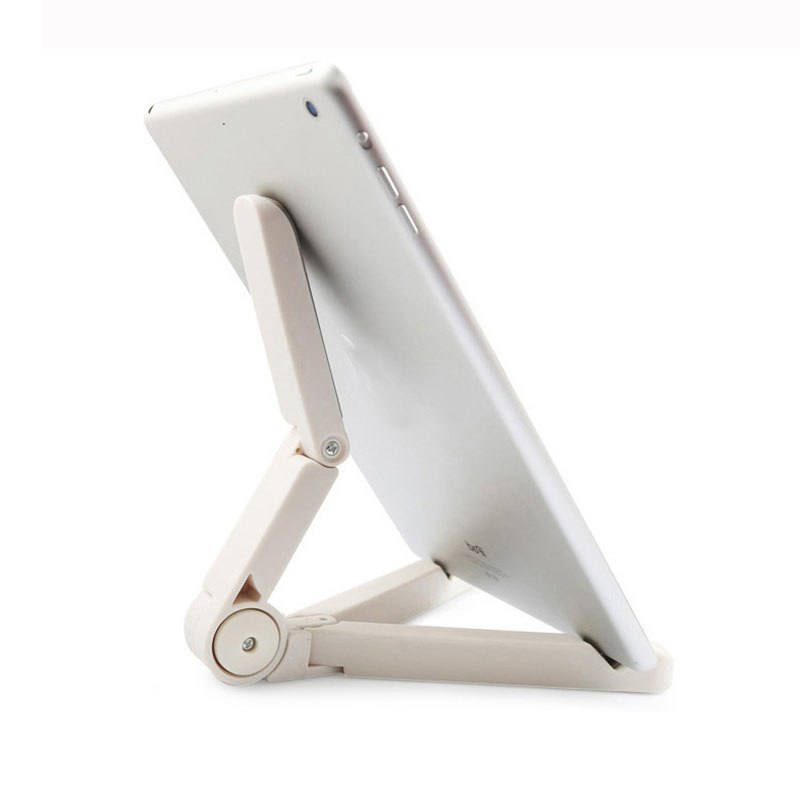 Foldable Tablet Holder Desktop Big Phone Holder Stand Bracket Mount Adjustable for iPad Tablet Mobile Phone 4-10 Inch - ebowsos