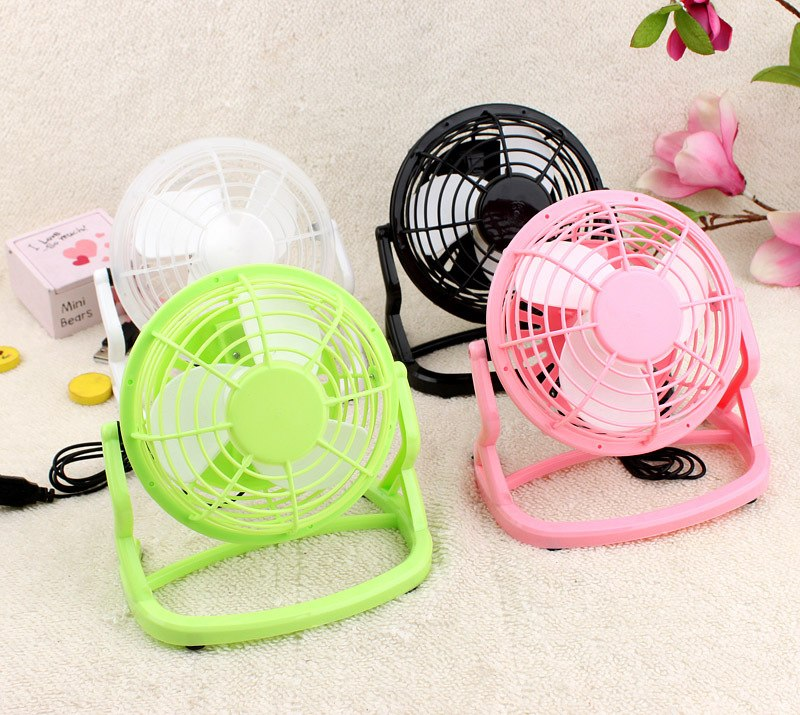 USB Cooler Cooling Fan Desk Mini Fan Portable Desk Mini Fan Super Mute PC USB Coolerfor Notebook Laptop Computer With key switch - ebowsos