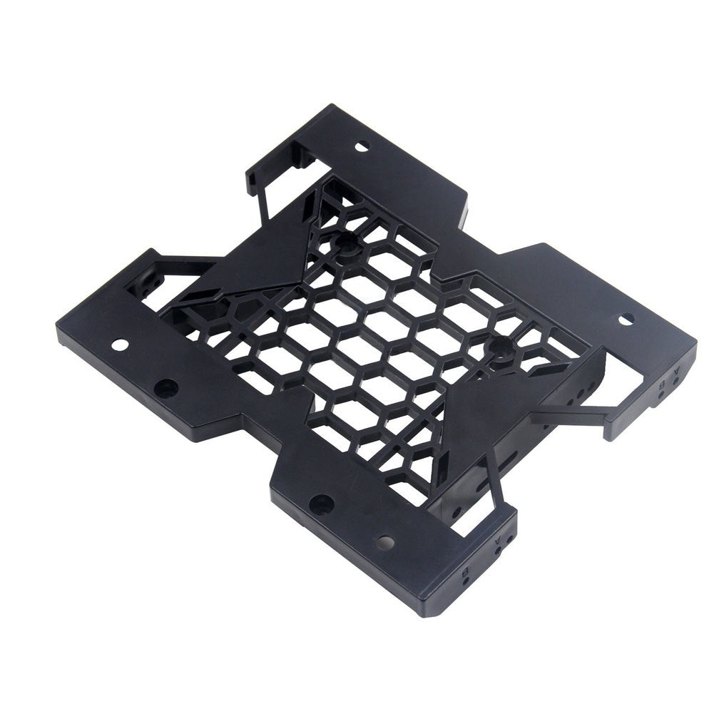 5.25inch to 3.5inch 2.5inch SSD HDD Tray Caddy Case Adapter Cooling Fan Mounting Bracket - ebowsos