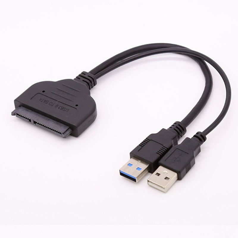 SATA Cable 7+15pin 5Gbps SATA to USB 3.0 Drive Converter Adapter Cable for 2.5 inch HDD SSD - ebowsos