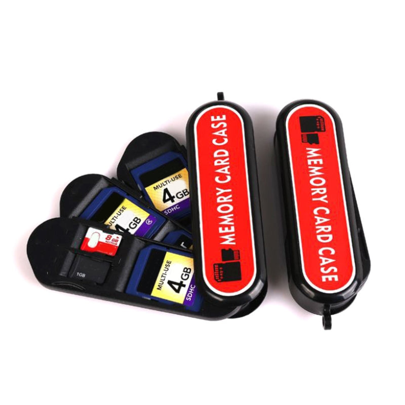 Memory Card Case Army Knife Shaped Camera SD Memory Card Storage Carrying Case Holder Box Travel - ebowsos