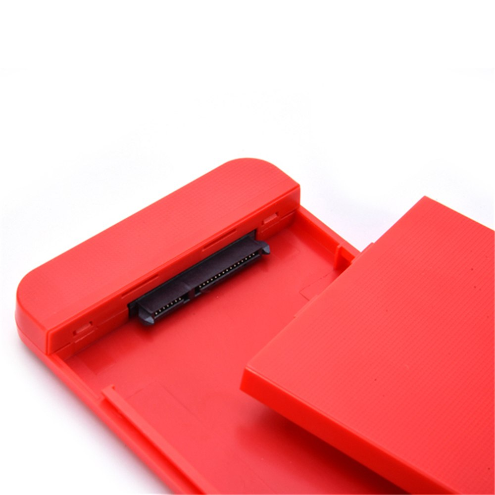"2.5"" Micro USB3.0 SATA3.0 6Gbps HDD Hard Disk Drive Enclosure Case Box Cartridge - ebowsos"