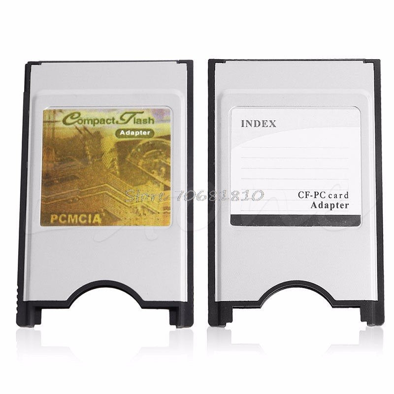 Compact Flash CF to Adapter Cards Reader PC Card PCMCIA for Laptop Notebook - ebowsos