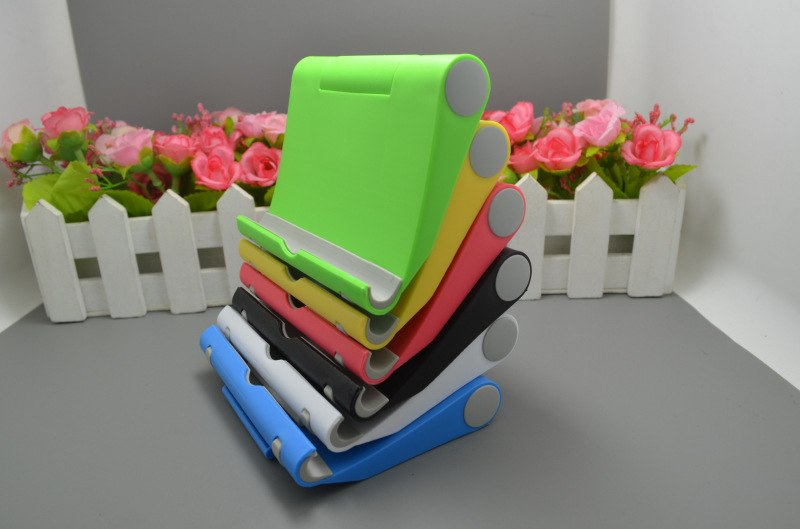 Portable Adjust Angle Stand Holder Support Bracket Mount For Tablet for ipad Phone for Galaxy 10 x 9cm - ebowsos
