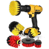 3 pcs Power Scrubber Brush Set for Bathroom Drill Scrubber Brush for Cleaning Cordless Drill Attachment Kit Power Scrub Brush - ebowsos