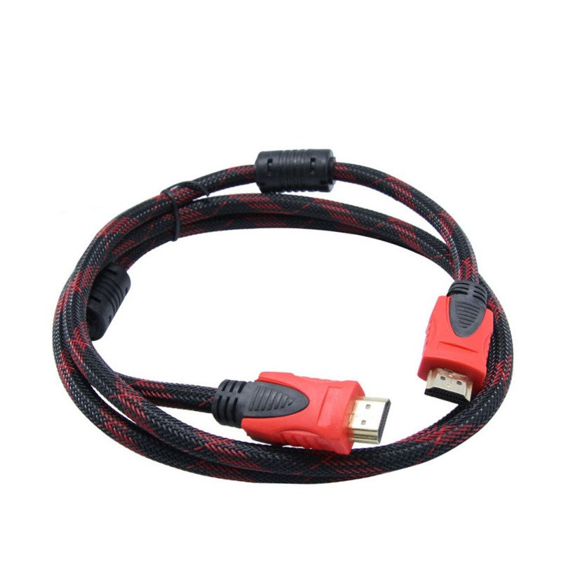 High Quality HDMI Cable Gold Plated Male HDMI To Male HDMI Cables For  PS3 HDTV LCD DV DVD PJ TV 1.5m 5ft 1.4 - ebowsos