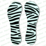 High Heel Shoe Inserts Insole Metatarsal Support Pad Relieve Sore Party Feet zebra - ebowsos