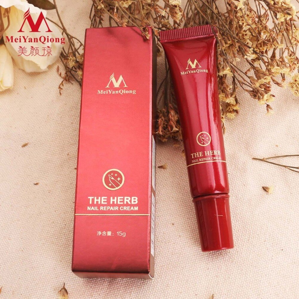 MeiYanQiong Herbal Nail Repair Cream Herbs Toe Nail Repair Cream - ebowsos