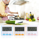 Multi-function Electric LCD Digital Kitchen Timer Alarm Count Up Down Clock - ebowsos