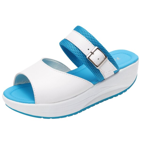 New Women Sandal Summer Shoe New Fish Head Sandals Women's Shoes Increased Shoes Shoe - ebowsos