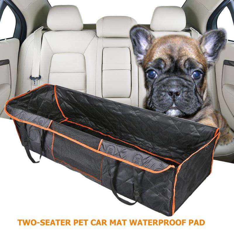 Orange Edge Waterproof Pet Dog Mat New and High Quality High-grade Easy to Clean Oxford Fabric Seat Pad Hammock Protector - ebowsos