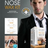 Portable Men's Wax Kit Nose Hair Removal Wax Wax Kit for Men Nose Hair Removal Cosmetic Tool nose hair trimmer - ebowsos