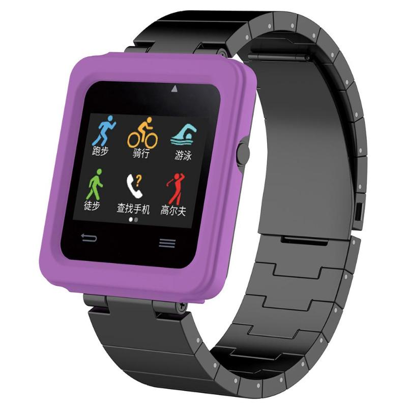 Silicone Protective Case Cover Frame Shell Replacement for Garmin Vivoactive Smart Watch Case Smart Accessories - ebowsos