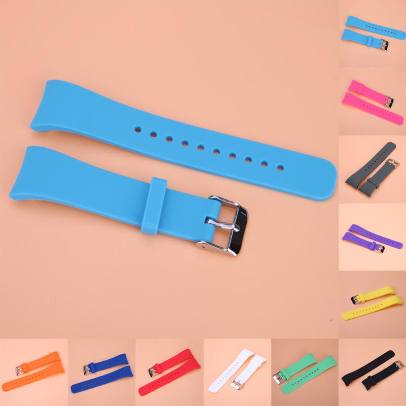 Silicone Smart Watch Bands Replacement Strap For Samsung Gear Fit 2 SM-R360 Watch Replacement WatchBand for Sport Travel Work - ebowsos
