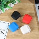 Soft Silicone Antislip Ear Cover Hook Earphone Earbuds Tips Headset Shockproof Case Protector for Apple AirPods TWS New Arrival - ebowsos