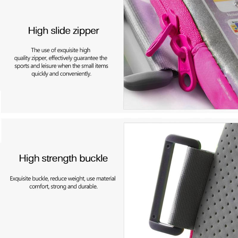 Sports Running Touch Screen 5.5inch Armband Protective Cover Bag for Mobile Phone Outdoor Fitness Wrist Pack High Quality - ebowsos