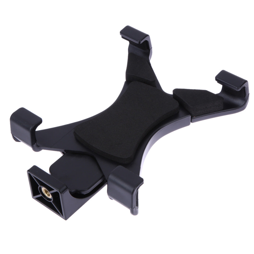 "Universal Tablet Tripod Mount Clamp Tripod Mount Holder Bracket Clip For iPad Galaxy Phone Clamp with 1/4"" Thread Adapter Hot - ebowsos"