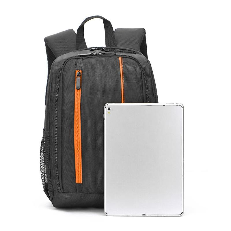 Color : Orange Cooralledtooere Folding Camera Computer Backpack Outdoor Anti-Theft Waterproof Digital Camera Bag 15.6-inch Laptop Bag