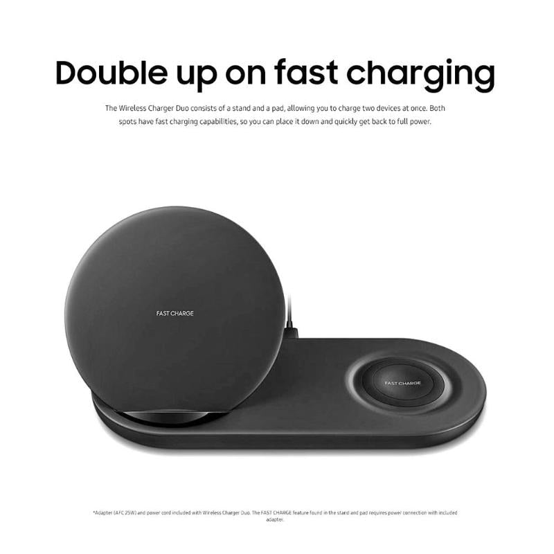 Wireless Charger Fast Charging Stand Dock for Samsung Galaxy Note 9 +Watch High Quality Wireless Charger Stand Dock Hot Sale - ebowsos