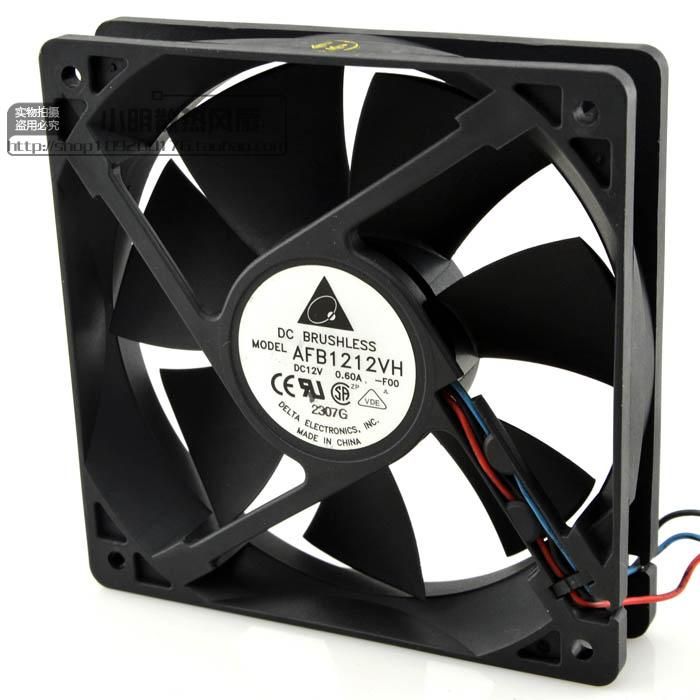 For Delta / DELTA AFB1212VH 12025 12V 0.60A 3 line mining machine graphics card fan - ebowsos