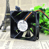 For new original NMB 3110KL-04W-B86 8025 12V 0.46A support PWM speed control fan - ebowsos