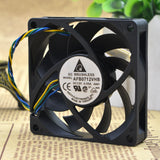 For original Delta 7CM 7015 AFB0712VHB 4-wire PWM automatic temperature control CPU cooling fan - ebowsos